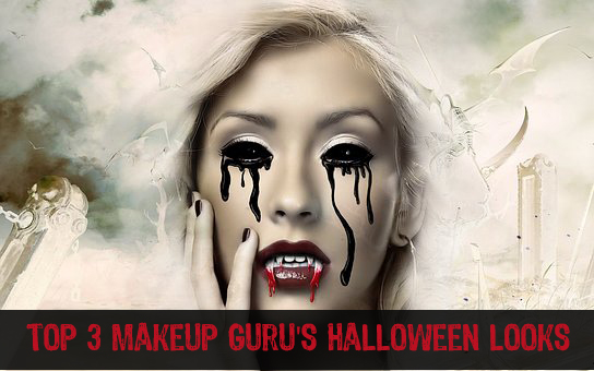 Top 3 Makeup Guru's Halloween looks