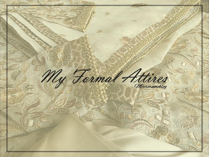 my formal attire