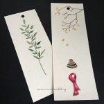 Handmade Art Bookmark