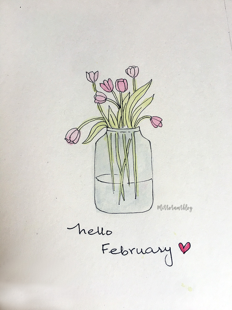 February Bullet Journal 2020 ideas
