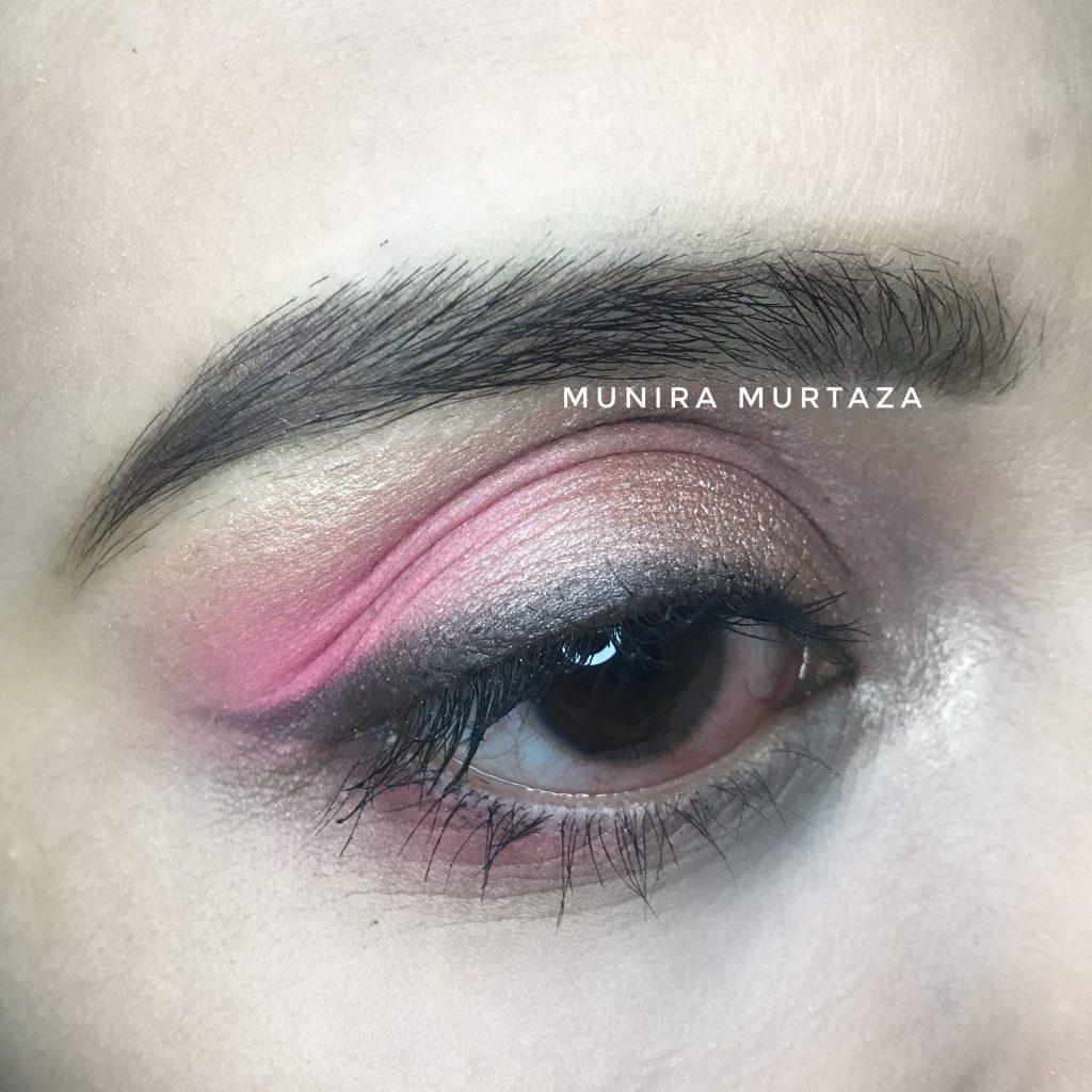 Simple and Eay PInk Eye makeup look (Eid Edition)
