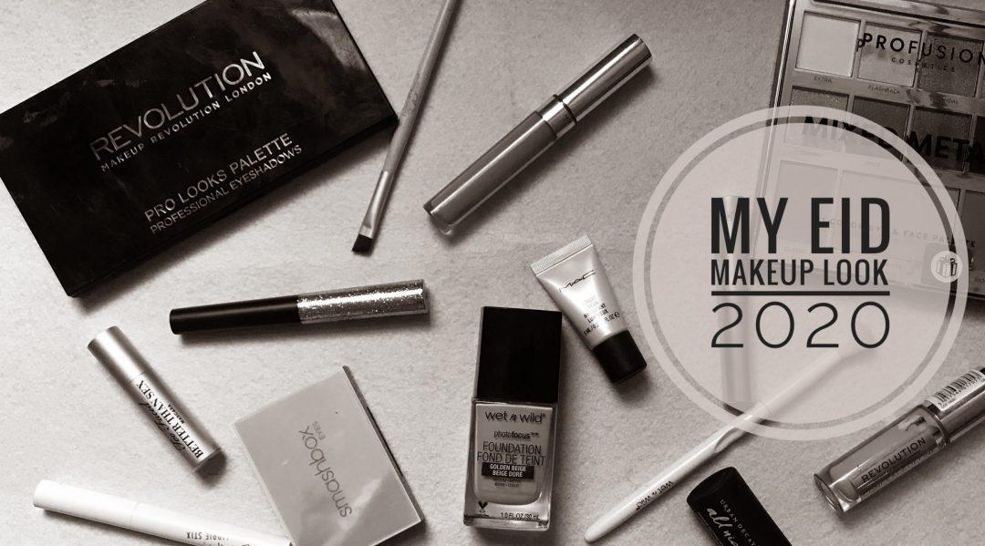 Simple and easy Eid Makeup look